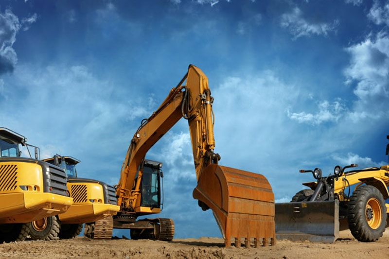 heavy equipment rental services